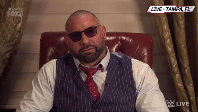 Will Batista be on RAW?