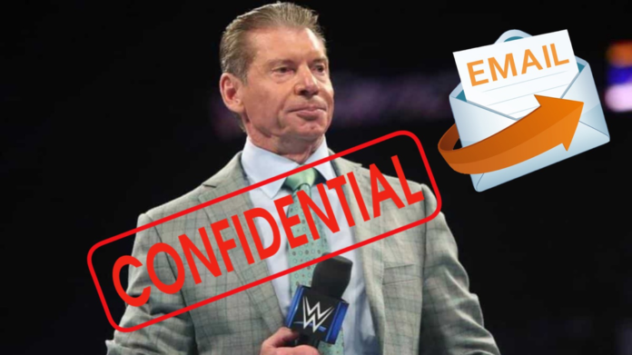 Vince McMahon Email on 3rd Party Ban