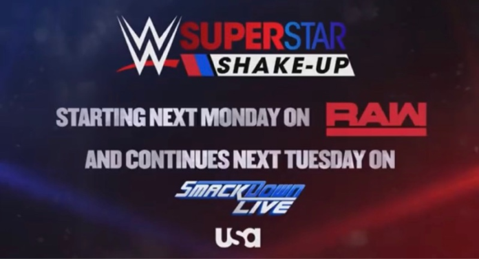 Superstar Shake-Up WWE Smackdown RAW