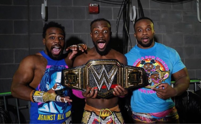 Kofi Kingston WWE Champsion