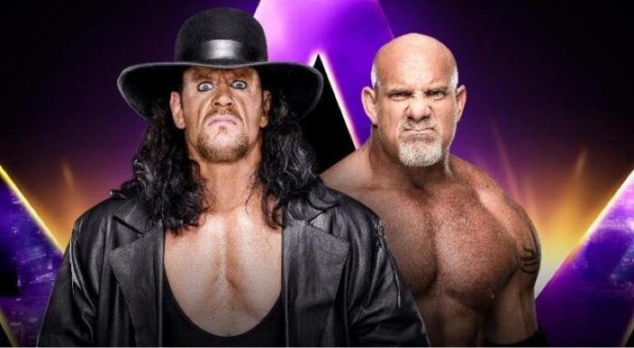 Goldberg Vs The Undertaker WWE